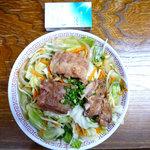 福屋 - 野菜ソーキそば 小