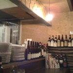 オステリア・バジル - こだわりのワインが豊富