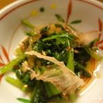 魯仁庵 - 三種菜のおひたし