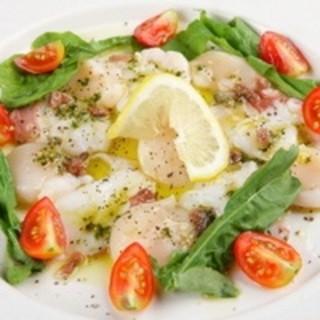 新鮮な魚介類もお楽しみいただけます。