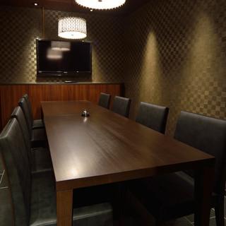 ≪4名様~8名様≫こちらの個室は人気になりますので、お早目のご予約を…