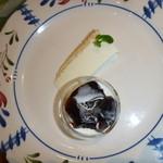 Naturale Rico - デザートのチーズケーキ&コーヒーゼリー