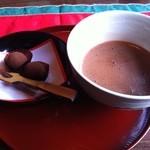 COCOA SHOP AKAITORI - 抹茶ココアにお茶菓子♪