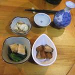 作 - 料理写真:お通し(3品)