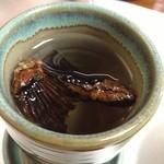 寿司 割烹 浪花 - ひれ酒(1500円くらい)
