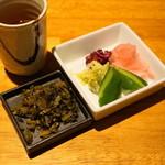 勝烈亭 - 2012.11 高菜漬、漬物