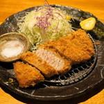 勝烈亭 - 2012.11 厚揚げ六白黒豚棒ひれかつ膳(180g2,625円)