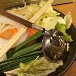 しゃぶしゃぶ温野菜 - 定番野菜盛り合わせ