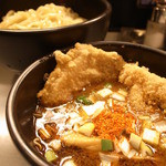 七代目けいすけ - 並盛 つけ麺 300g (880円)