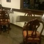 ブルームーンカフェ - ゆっくりできる店内