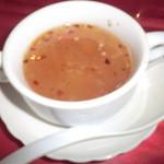 インド料理 GAUTAMA - やみつき!!酸っぱくて辛い 絶品スープ
