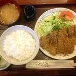 げんぱち - ビーフカツ(ヒレ肉)(1200円)