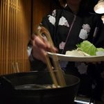 中目黒KIJIMA - 水炊きをいただきます。
