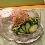 ぱすた亭 - おまかせサラダ(450円)