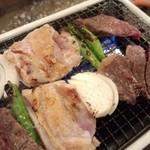 磯家 - チキン串・海鮮串・牛串