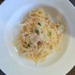16548660 - 太刀魚と白菜のクリームソース