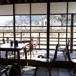 五十鈴川カフェ - 喫煙席