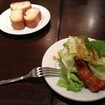 フェスティーノ - 料理写真:ランチのセット