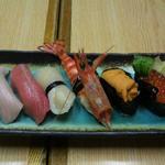 16550009 - 12月お座敷でのお寿司盛り合わせ