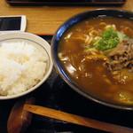 16550611 - カレーうどん麺大盛、御飯大