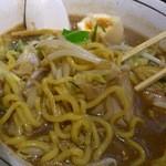 らぁ麺 あんど - 麺良し!スープ旨し!の黒味噌らぁ麺!