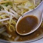 らぁ麺 あんど - エッジの利いた塩辛くも円やかなスープ!