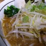 らぁ麺 あんど - 野菜の茹で加減も絶妙!