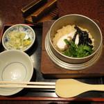 16551918 - 鯛釜飯