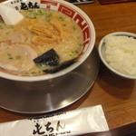 屯ちん 赤坂見附店 - ラーメンライス