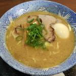 明神そば - 明神そば+煮玉子