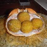 六本木農園 - 紅ずわい蟹と里芋のミニクリームコロッケ(4個) ¥600