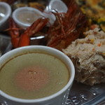 SIO - レバパテと鶏リエット、天使のエビ
