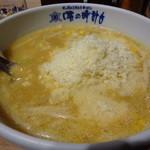 味の時計台 - 雪のチーズラーメン 1050円