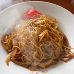 味萬 - 料理写真:焼きそば(600円)