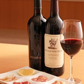 お食事とワインをお楽しみ頂けるこだわりのワインリスト♪