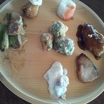 mogu - 地元の食材を色々な食べ方で…。
