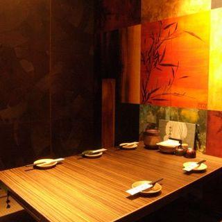 落ち着いた雰囲気の中、お食事をお楽しみいただけます。