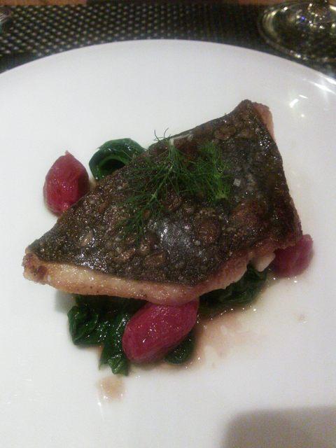 Le Sarment D'or - メインのお魚料理
