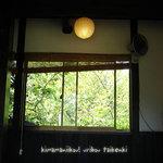 辻の茶屋 - 四季を感じられる店内ですよ♪