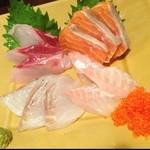 16560764 - 三浦鮮魚刺身盛り合わせ