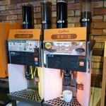 ジョイフル - ドリンク写真:店内(コーヒー系は種類があっていいですね)