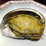 16562770 - 夕食(蝦夷鮑の塩釜焼き)