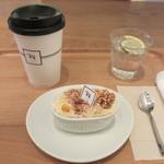 Ron Herman Cafe - ケーキとカフェラテ