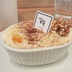 Ron Herman Cafe - クロテッドクリームとチョコのムース