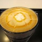マクドナルド - 料理写真:オレンジフレーバーラテ