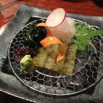 いろり - 白エビ食べ比べ980円