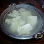 居酒屋 すぐり - 湯豆腐