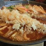 つるつるうどん瓢六庵 - 2012.12 デラックス味噌煮込み