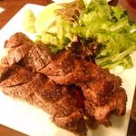 16565598 - 「ハラミのステーキ」です