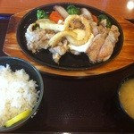 みさき食堂 - とりてき定食  2012年  味咲